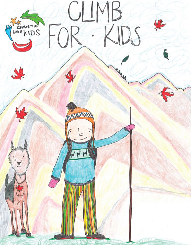 Climb for Kids Poster